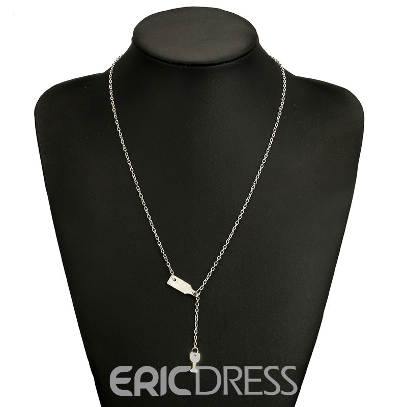 Ericdress Wineglass Charm Necklace