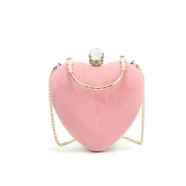 Ericdress Velour Chain Women Clutch