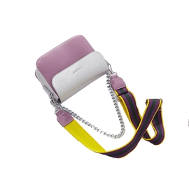 Ericdress Color Block Chain Small Crossbody