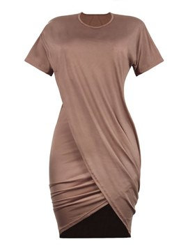 Ericdress Asymmetric Women's Bodycon Dress