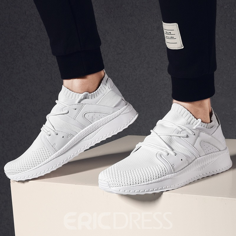 Ericdress Mesh Lace-Up Low-Cut Men's Trainers