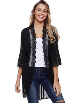 Ericdress Thin Lace Patchwork Cape