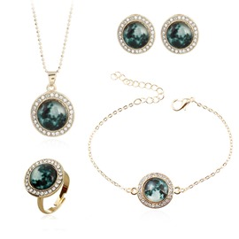 Ericdress Night Sky Bright Jewelry Set