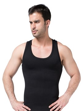 Ericdress I-shaped Back Anti-Sweat Abdomen Vest Top for Men