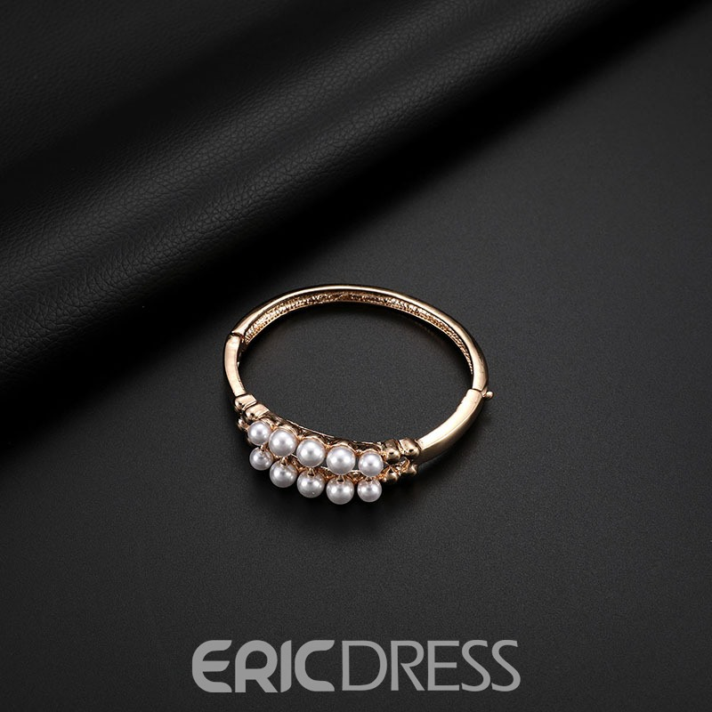 Ericdress Alloy Pearl Double Chain Jewelry Set