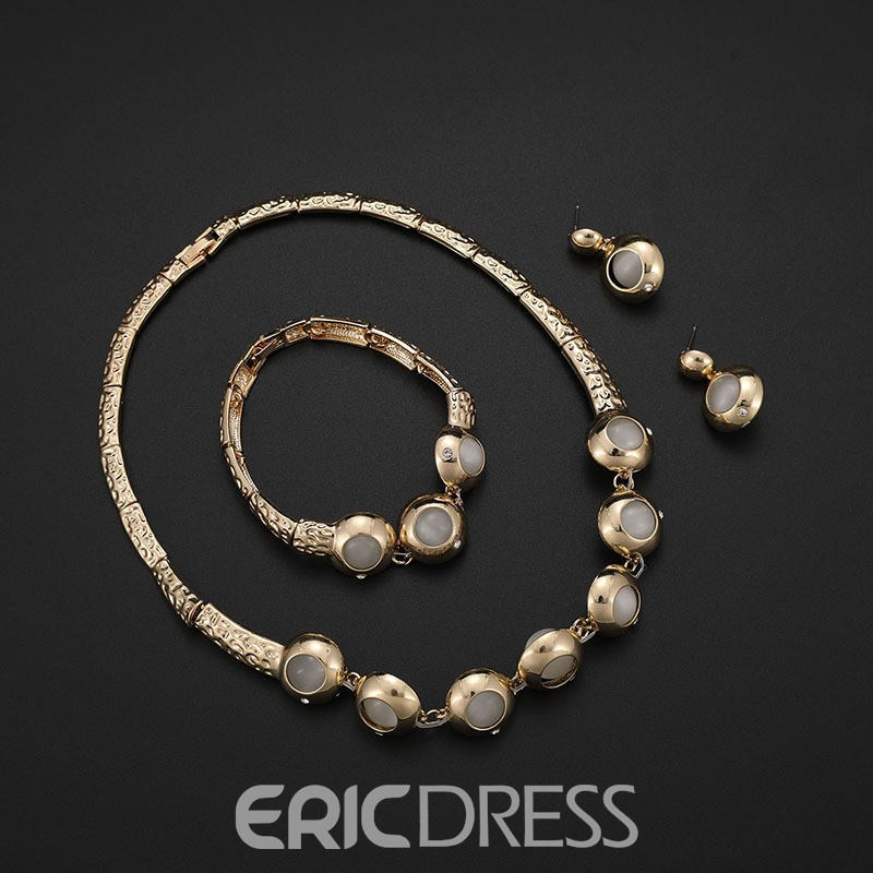Ericdress Beads Alloy Jewelry Set