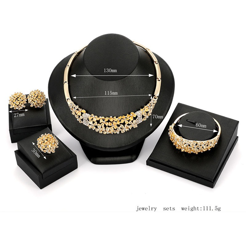 Ericdress Carving Floral Women Jewelry Set