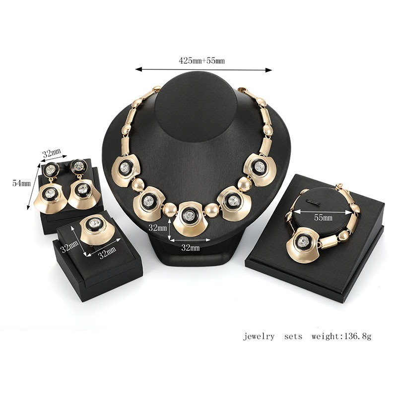 Ericdress Alloy Fan Design Jewelry Set