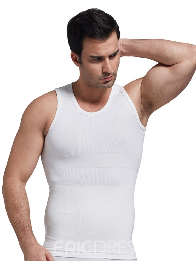 a35ad00cca79 Ericdress Anti-Sweat Breathable Body Shaping Sports Vest Top for Men ...