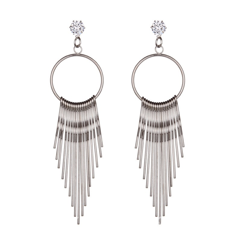 Ericdress Tassels Alloy Drop Earrings