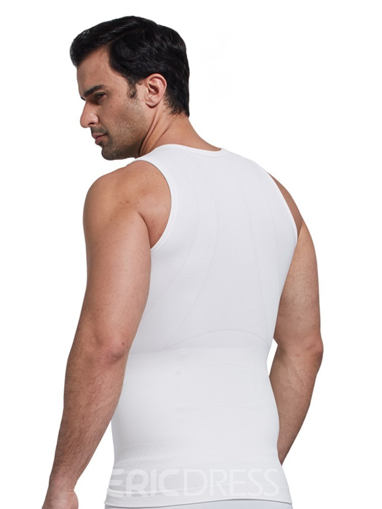 e7d378520ed7 ... Ericdress Anti-Sweat Breathable Body Shaping Sports Vest Top for Men ...