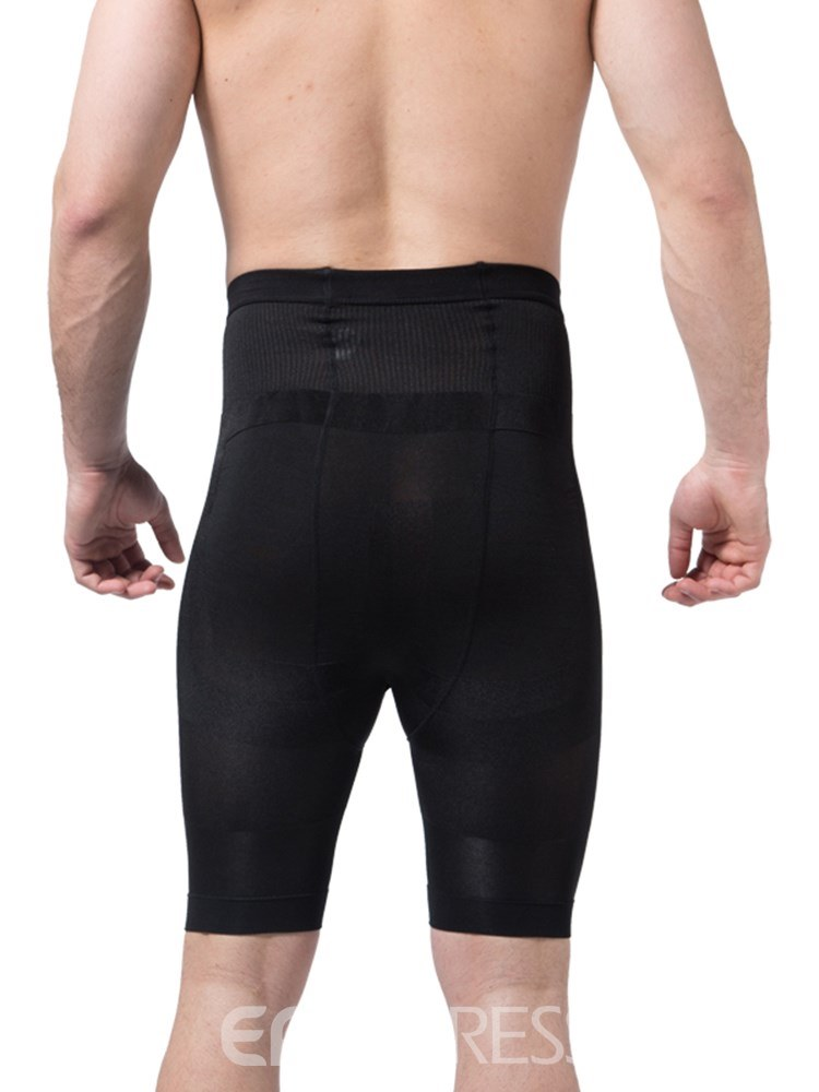 Ericdress Men's High-Waist Breathable Body Shaping Control Pant