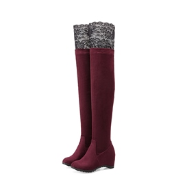Ericdress Hidden Elevator Heel Women's Knee High Boots