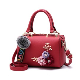 Ericdress Fashion Floral Zipper Women Handbag