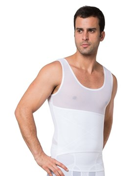 Ericdress Mesh Breathable Adjustable Men's Top Bustier
