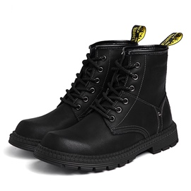 Ericdress Lace-Up Front Men's Martin Boots