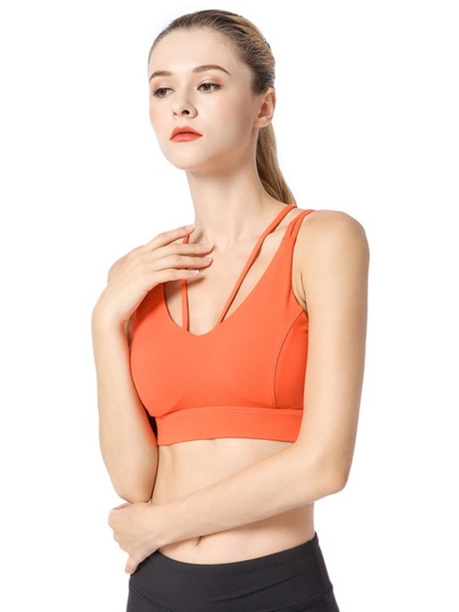 Ericdress Shockproof Three Quarters Free Wire Sports Bras