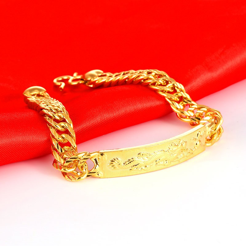 Ericdress Golden Dragon Men's Bracelet