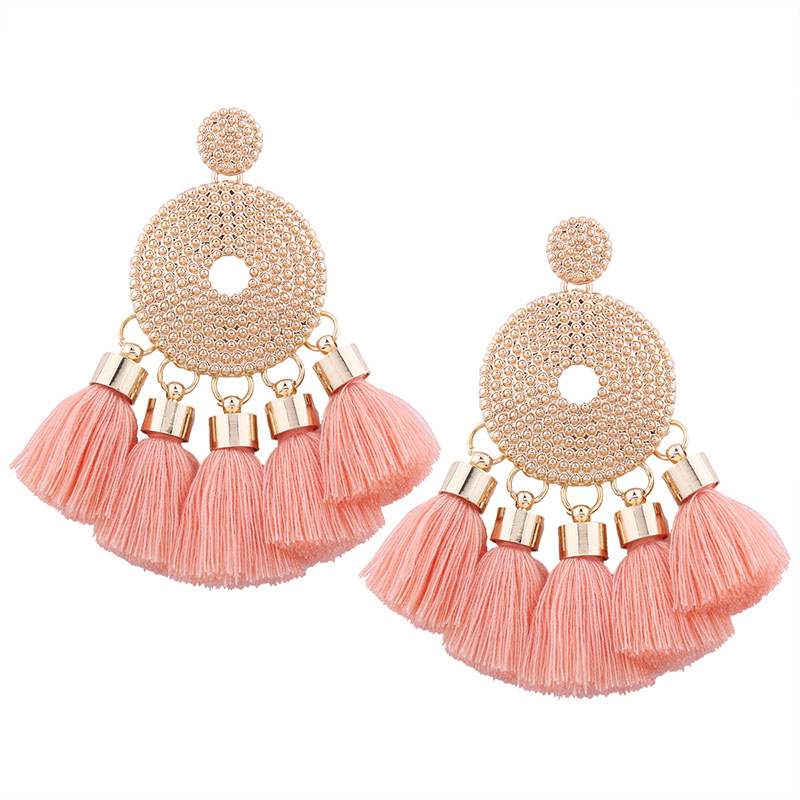 Ericdress Tassels Bohe Style Stud Earrings
