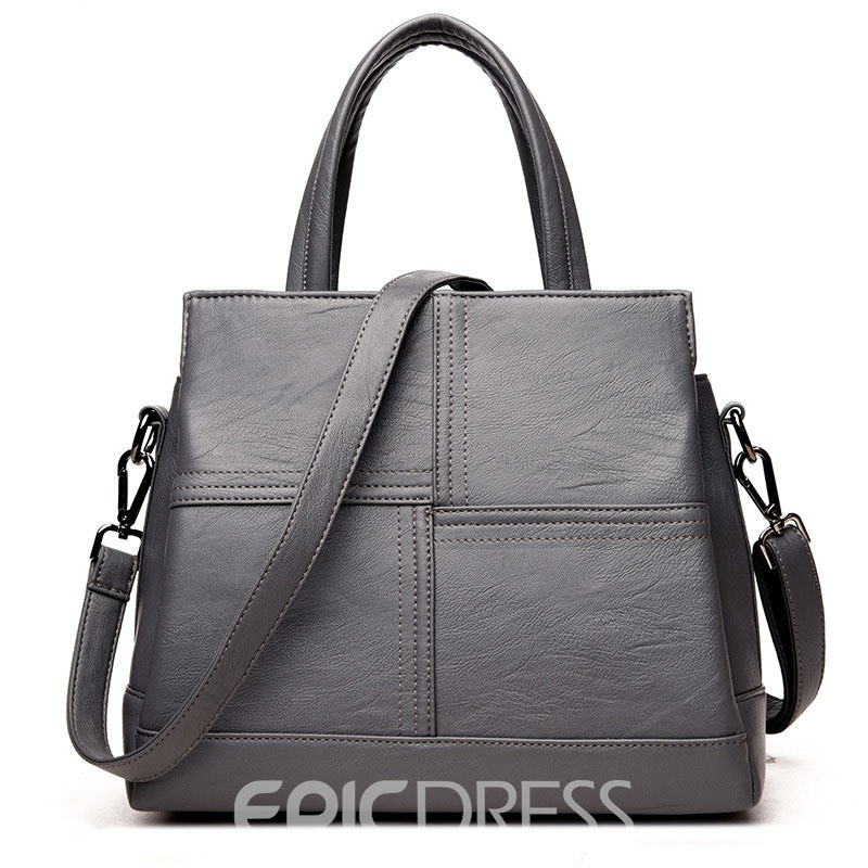 Ericdress PU Zipper Women Handbag