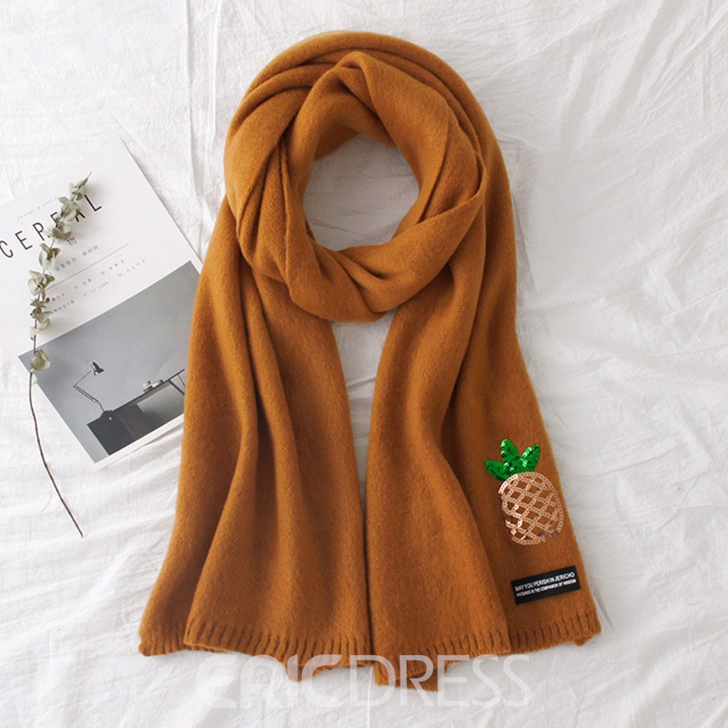 Ericdress Warm Winter Solid Color Women Scarf