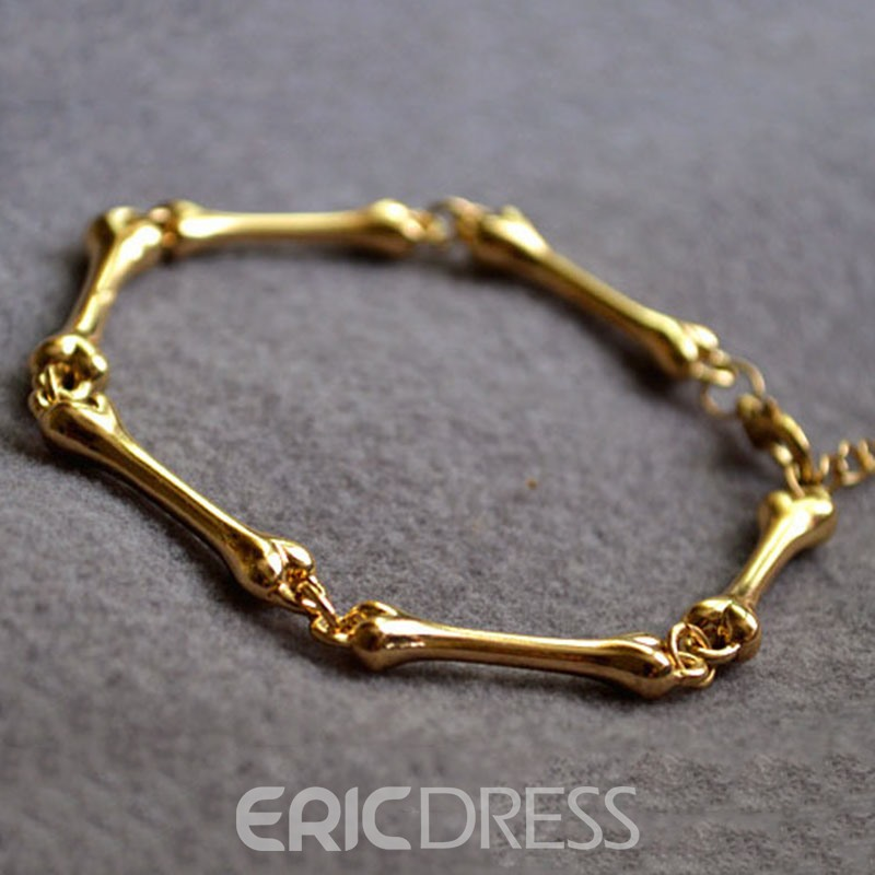 Ericdress Golden Bone Bracelet For Women
