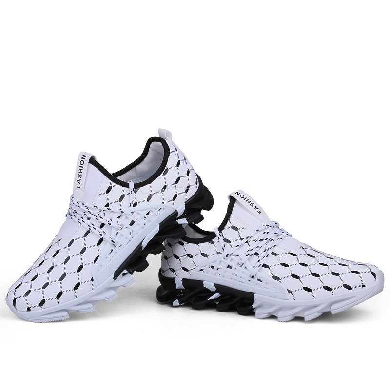 Ericdress Patchwork Lace-Up Men's Sneakers
