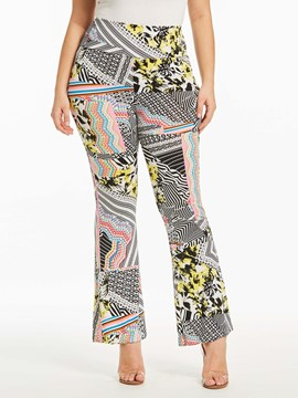 Ericdress Geometric Print Women's Pants