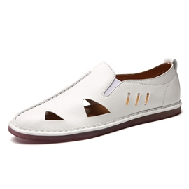 Ericdress Hollow Sewing Thread Slip-On Men's Shoes