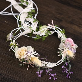 Ericdress Hand Made Pure Flower Hair Band