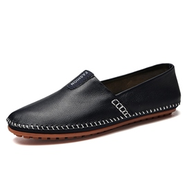 Ericdress Thread Sewing Slip-On Round Toe Men's Shoes