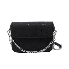 Ericdress Plaid Chain Women Crossbody Bag