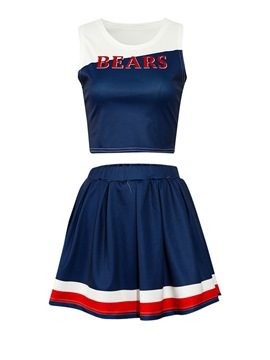 Ericdress Vest and Skirt Women's Cheerleaders Two Piece Set