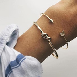 Ericdress Love& Arrow Alloy Bracelet