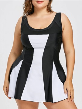 Ericdress Women's Color Block Cami Plus-Size Vest