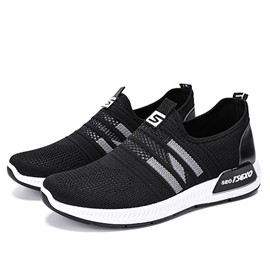 Ericdress Patchwork Mesh Slip-On Men's Sneakers