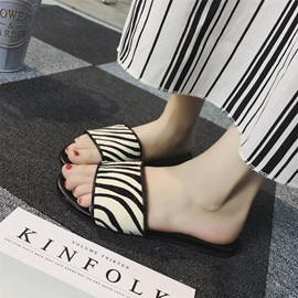 Ericdress Casual Slip-On Flip Flop Mules Shoes