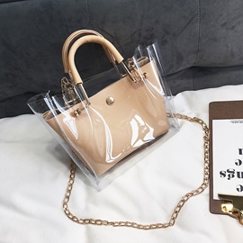 Ericdress Summer New Stylish Transparent Bag