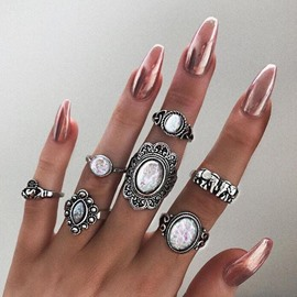 Ericdress Baroque Luxury Ring Set