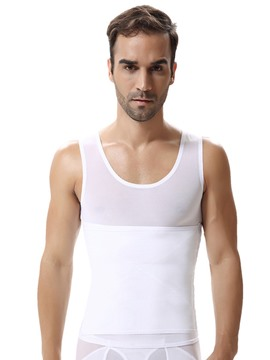 Ericdress Men's Waist Slim Vest Belly Tight Adjustment Bustier Top