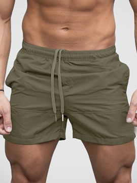 Ericdress Plain Mens Beach Shorts