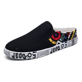 Ericdress Print Slip-On Round Toe Men's Shoes