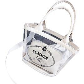 Ericdress Summer Transparent Jelly wrapped vegetable Tote Bag