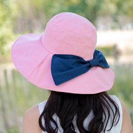 Ericdress Pink Pure Cotton Sunhat