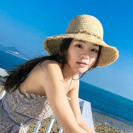 Ericdress Sea Shell Summer Hat