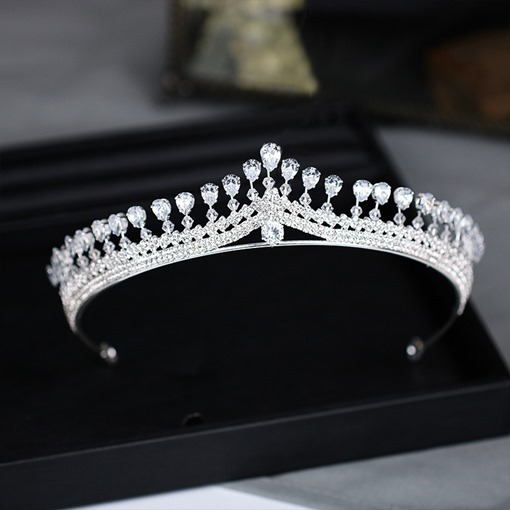 Ericdress Luxury Crystal Wedding Bridal Tiara