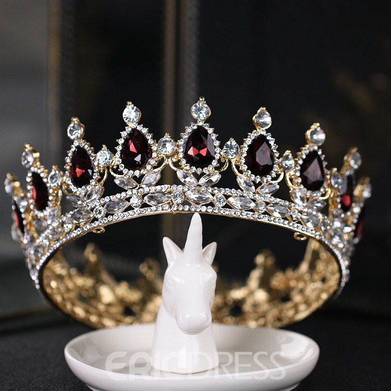 Ericdress Ruby Crown Exquisite Wedding Bridal Tiara