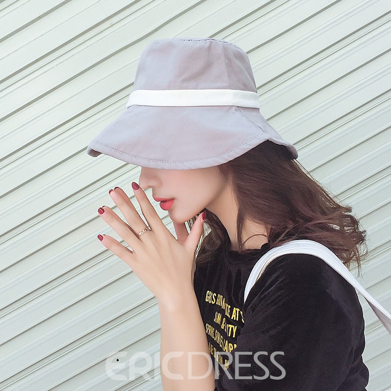 Ericdress Colorful Pure Cotton Sunhat