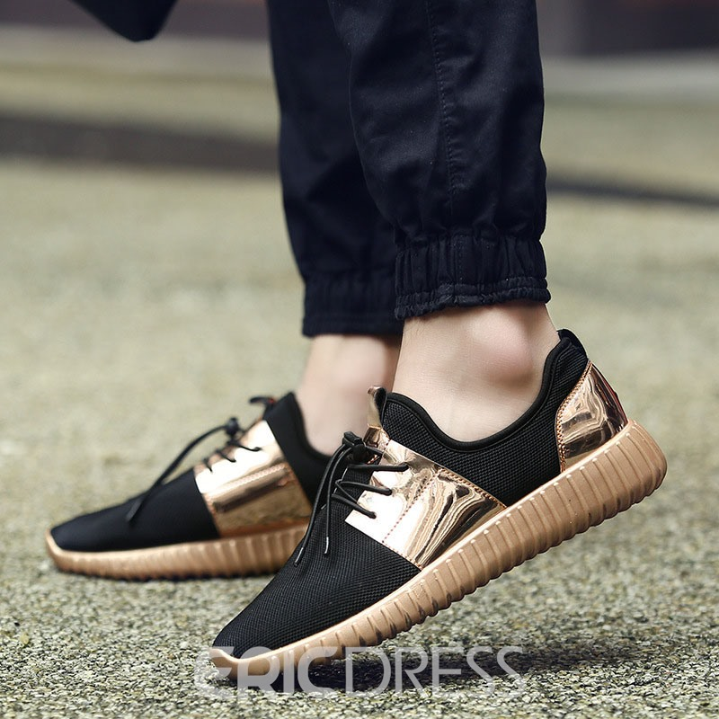 Ericdress Elastic Band Patchwork Color Block Men's Sneakers