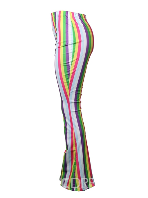 Ericdrdess Slim Striped Women's Pants